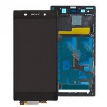 pantalla completa con marco sony xperia z1 L39H negra