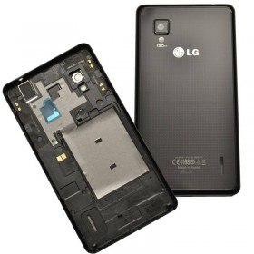 tapa trasera para LG optimus G E975 negra