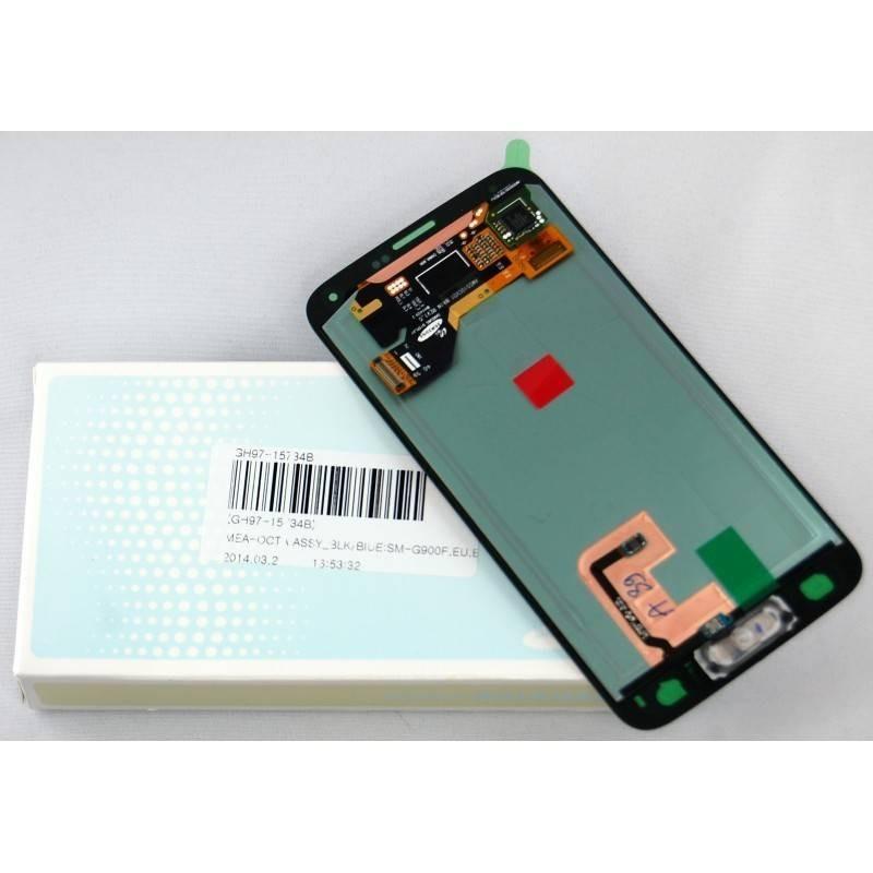pantalla completa samsung Galaxy S5, SM-G900F negra ORIGINAL