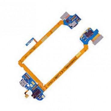 Flex Conector de Carrega e Microfono para Lg G2 D802