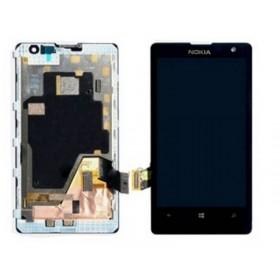Pantalla Completa con Marco Nokia Lumia 1020 Negro