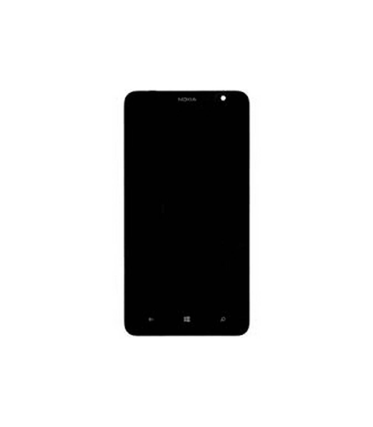 pantalla completa Nokia lumia 1320 negra