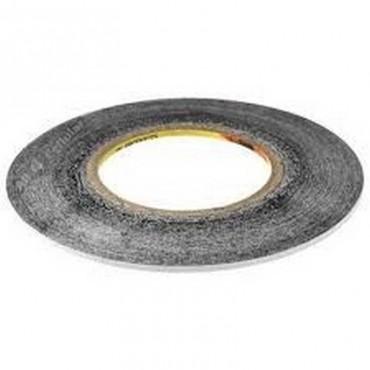 Cinta adhesiva negra extrafina 50m de 1mm