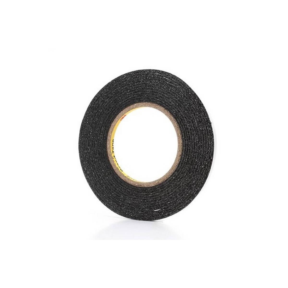 Cinta adhesiva preta extrafina 3M de 6mm de ancho