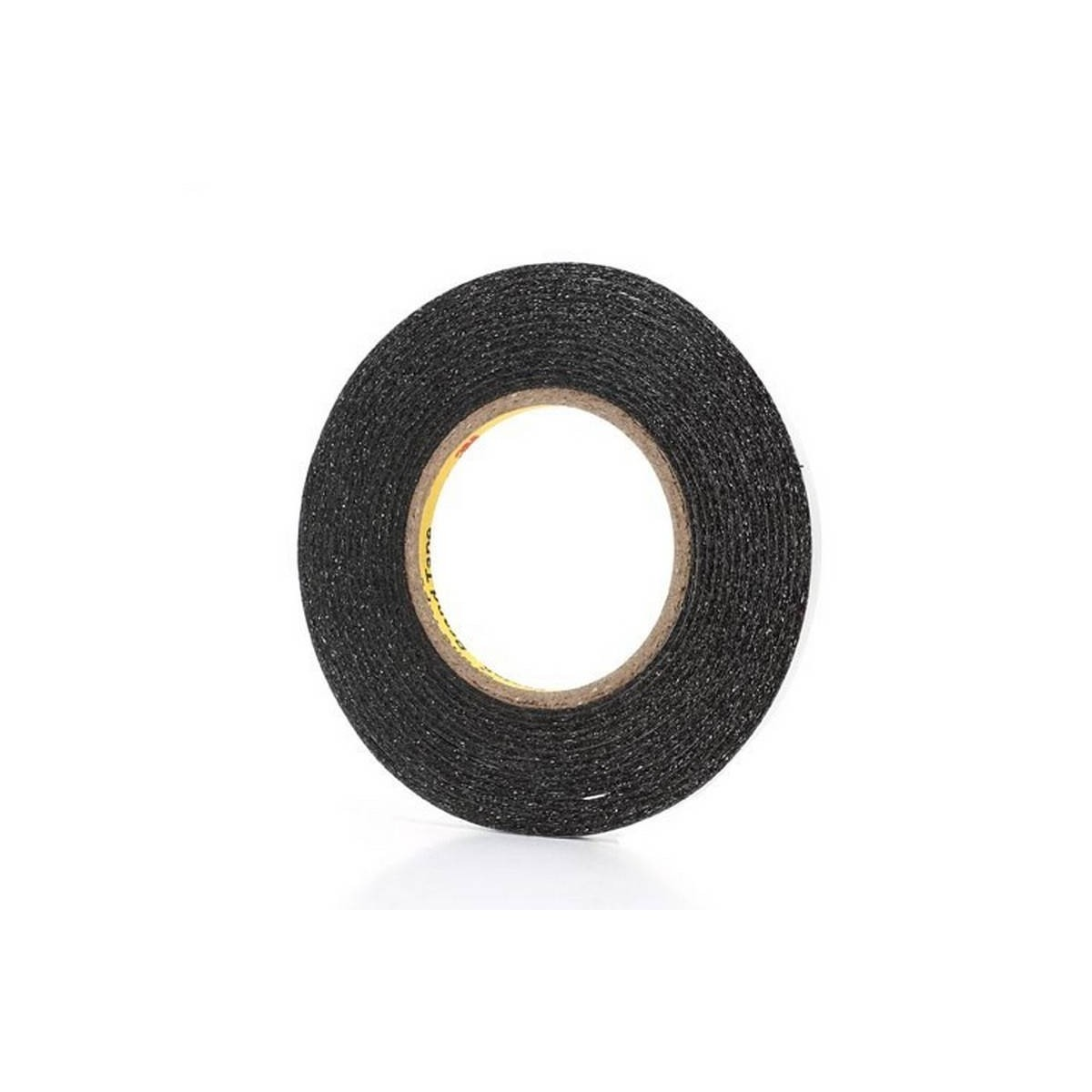 Cinta adhesiva negra extrafina 50m de 6mm de ancho