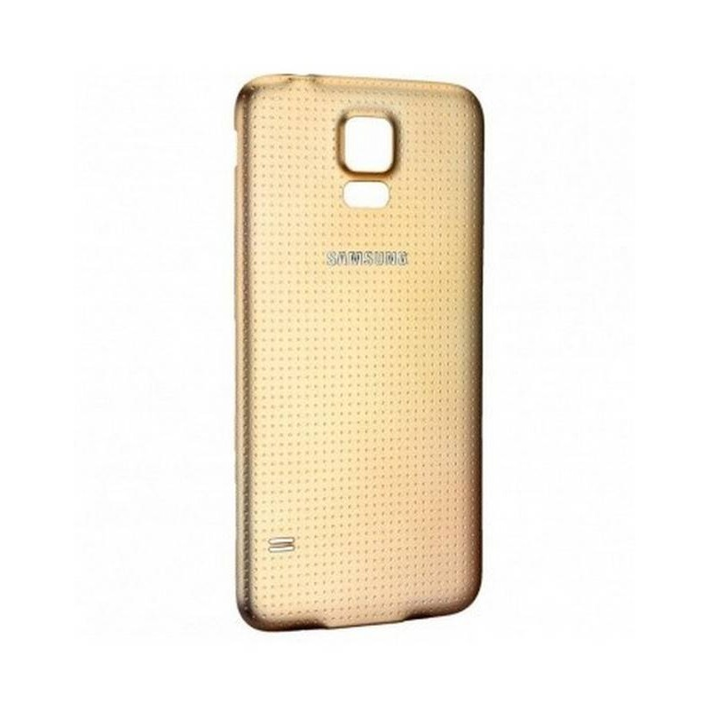 Tapa Trasera para el Samsung Galaxy S5 G900 ORO