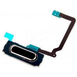 boton home con flex Samsung Galaxy S5 I9600 G900F negro