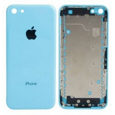 tapa carcasa trasera para iphone 5c en color azul