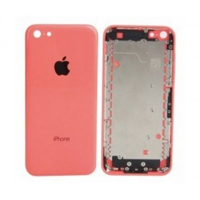 tapa carcasa trasera para iphone 5c en color rosa
