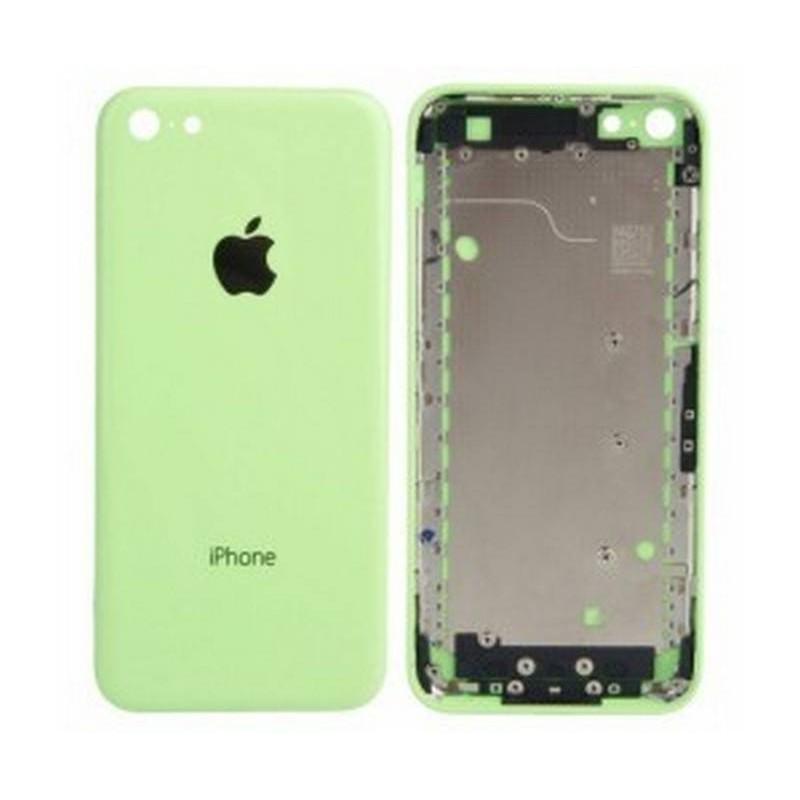 tapa carcasa trasera para iphone 5c en color verde