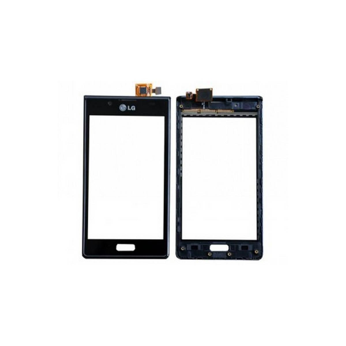 Tactil com marco LG P700 L7 Preta