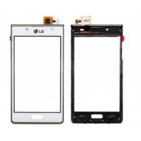Ecrã Tactil com marco LG P700 L7 branco