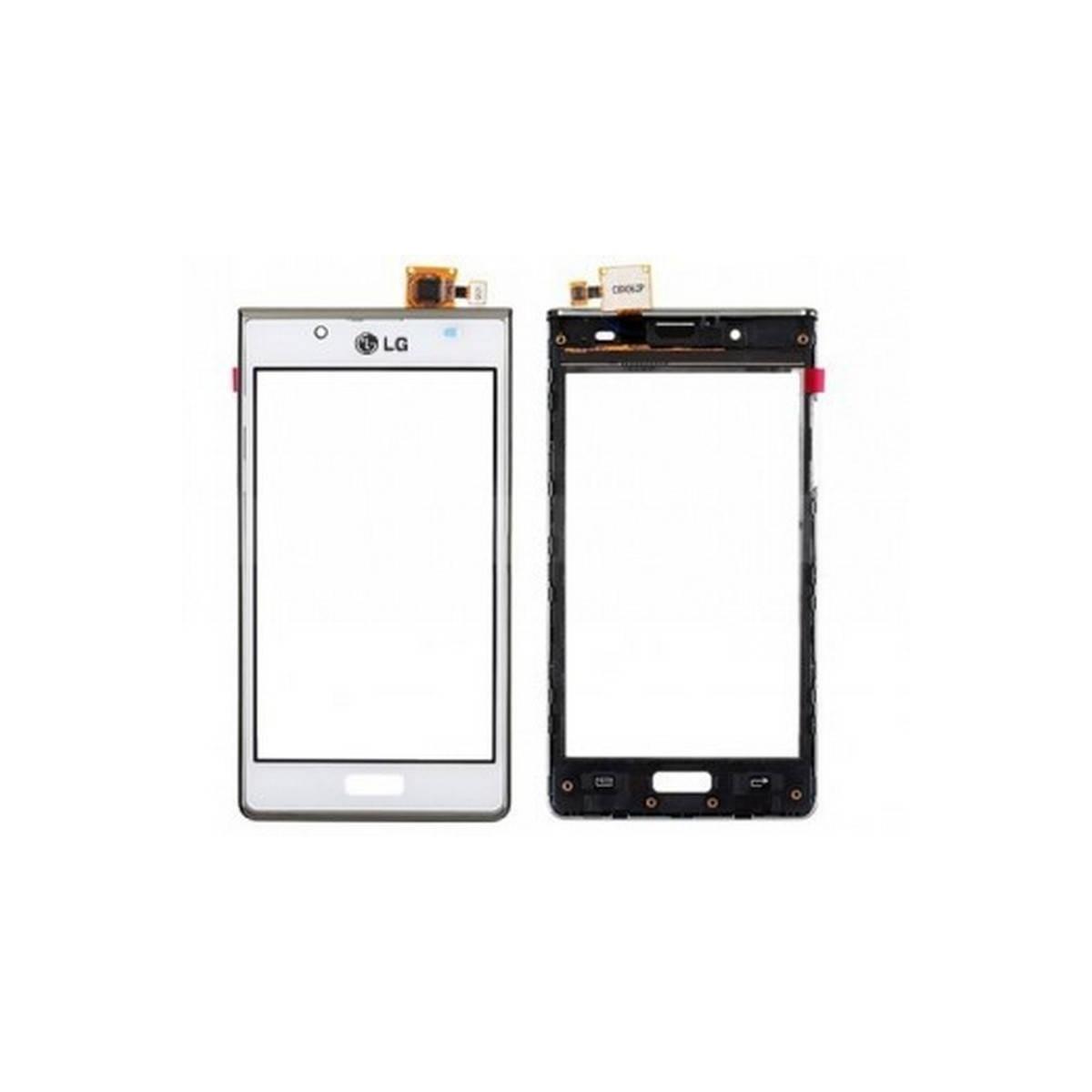 Pantalla Tactil con marco LG P700 L7 blanco