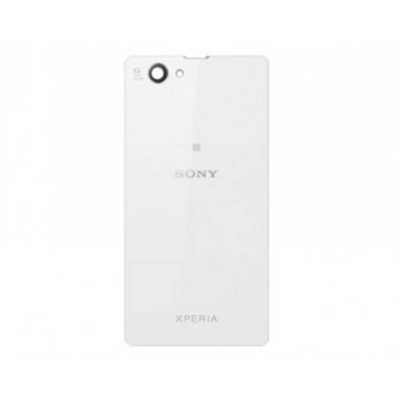 Cristal Trasero Sony Xperia Z1 Compact D5503 Blanco