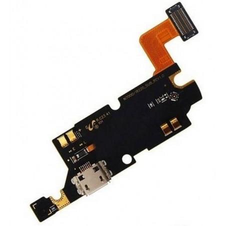Conector de Carga Flex Samsung Galaxy Note I I9220 N7000