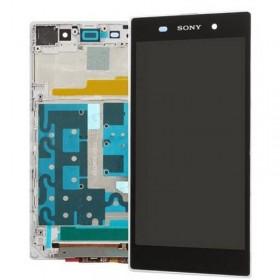 Pantalla completa con marco blanco Sony Xperia Z1 l39h