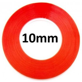 Cinta Adhesiva Doble Cara Transparente 10mm