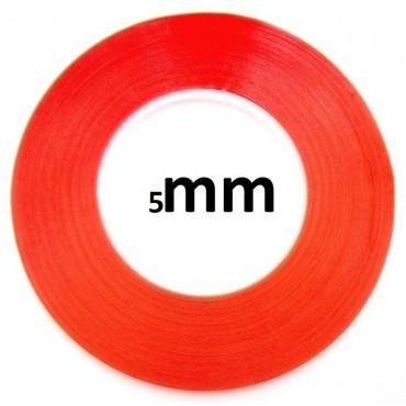 Cinta Adhesiva Doble Cara Transparente 3m de 5mm
