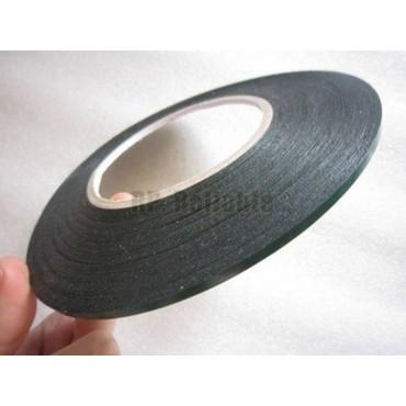 Cinta adhesiva doble cara, de espuma negra polietileno 3mm