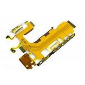 Flex principal con botones de encendido, volumen, cámara y micrófono para Sony Xperia Z2 D6502, D6503, D6543, L50W