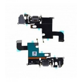Flex Conector Carrega y Micro iPhone 6 Gris