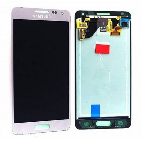 Pantalla completa Samsung Galaxy ALPHA G850F ORIGINL gris plata