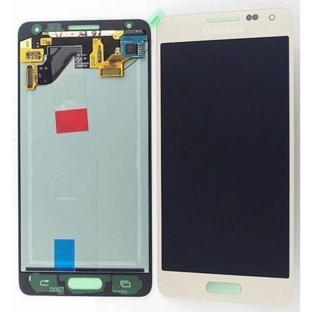 Pantalla completa ORIGINAL Samsung Galaxy ALPHA G850F ORO