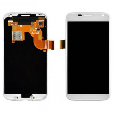 Pantalla Completa Motorola Moto X XT1060 blanco