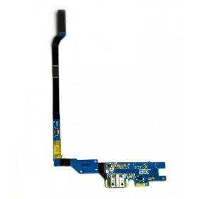 Conector Carrega com flex e Micro USB para Samsung Galaxy S4 i9505