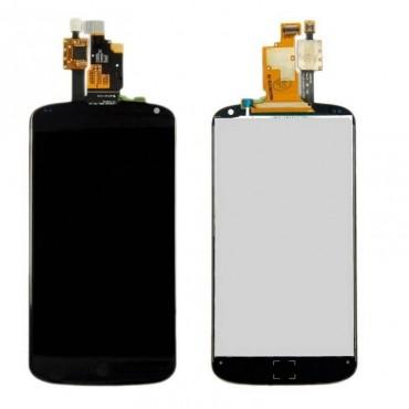 Pantalla Completa LG Nexus 4 E960 Negra sin marco