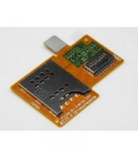 Flex Lector sim y memoria Sony Ericsson Xperia Miro ST23I