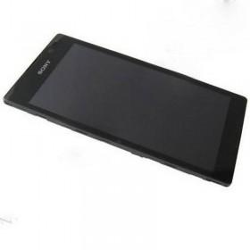 Pantalla completa Sony Xperia C S39H negra