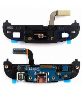 conector de carga con boton home samsung ace 4