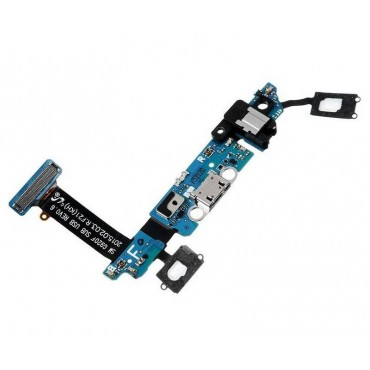 Flex Conector carga y Microfono Samsung Galaxy S6