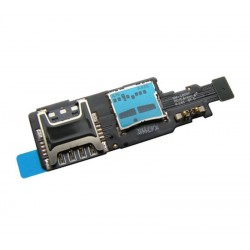 lector sim y micro sd samsung galaxy S5 mini G800