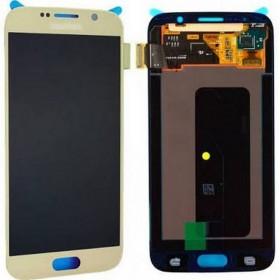 Pantalla completa Samsung Galaxy S6 G920F Dorado