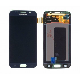 Pantalla completa Samsung Galaxy S6 G920F azul