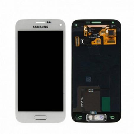 Pantalla completa Samsung Galaxy S5 mini G800F blanca