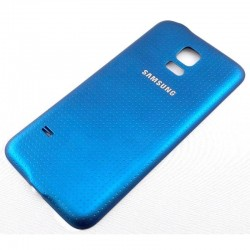 Tapa trasera samsung galaxy S5 mini G800 azul