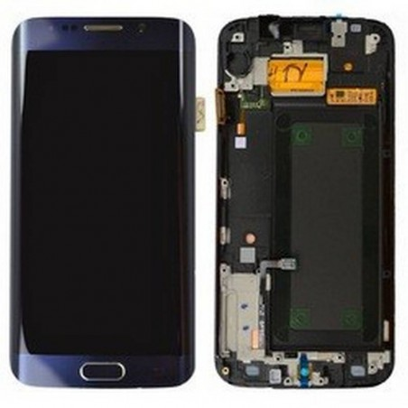 Pantalla completa con marco Samsung Galaxy S6 EDGE G925F verde