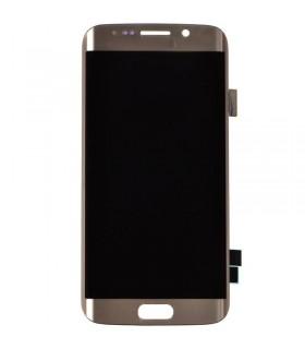 Pantalla Completa con marco Samsung Galaxy S6 EDGE G925F oro