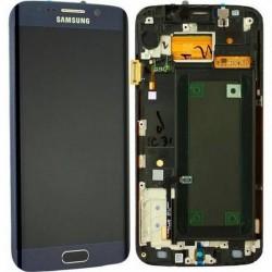 Pantalla Completa con marco Samsung Galaxy S6 EDGE G925F azul