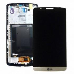 Pantalla Completa con marco LG G3 D855 ORO
