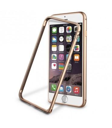Funda Bumper Dorada Aluminio Apple iPhone 6 Plus