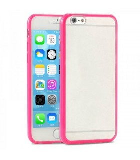 Funda bumper iphone 6 plus rosa