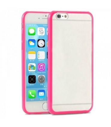 Funda bumper iphone 6 plus rosa