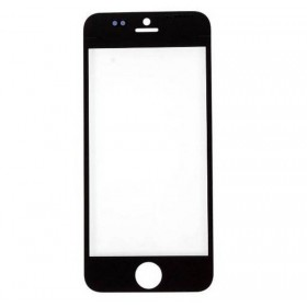 Cristal frontal iPhone 5 Preto