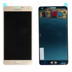 Pantalla Samsung Galaxy A7 A700F en color oro
