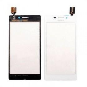 Tactil Sony Xperia M2 Aqua D2403 D240 blanco