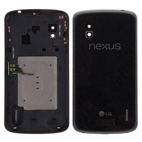 Tapa trasera Negra LG Google Nexus 4 E960